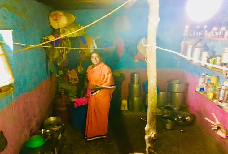 Dalit Woman's House